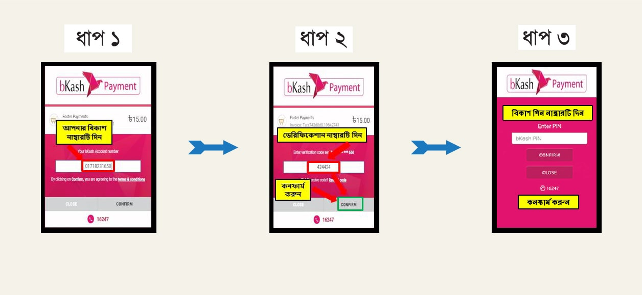 bkash payment system
